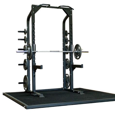 Weight Lifting Rack by Chion Half Rack Commercial Grade