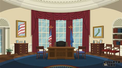 oval office wallpaper david dimatteo animation backgrounds and digital design