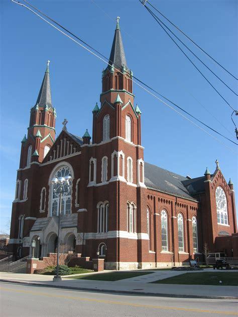 st catholic church file st joseph s catholic church in wapakoneta light jpg