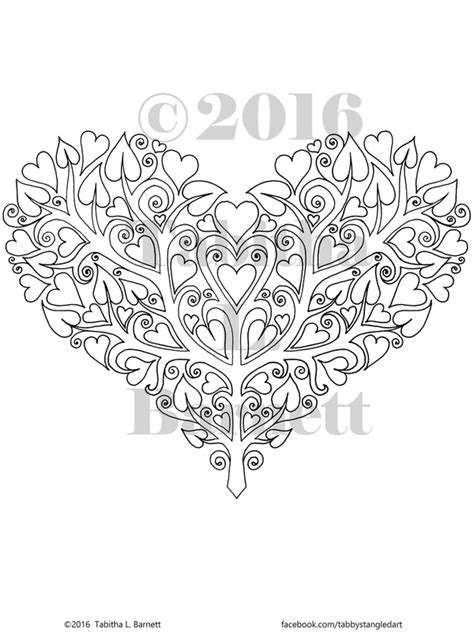heart tree coloring page jaynie adult coloring page jpg tabby s tangled art