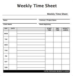 Free Printable Timesheet Templates Free Weekly Employee Time Sheet Template Exle Stuff To Construction Time Card Template