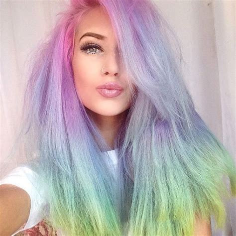 pastel colored hair la nouvelle mode capillaire tendance chez les femmes les