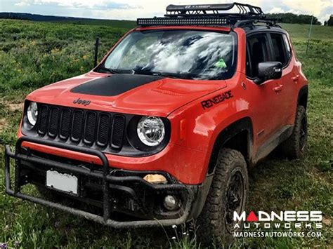 customized jeep customized jeep renegade madness autoworks auto parts