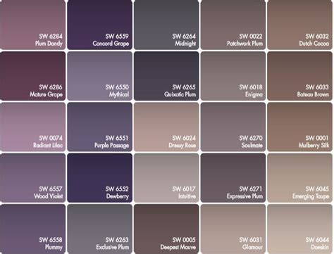 purple and grey color palette for the guest room click grey colors shades szukaj w google grey pinterest