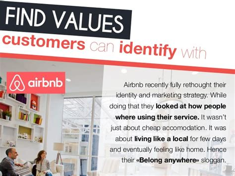 find values customers can identify
