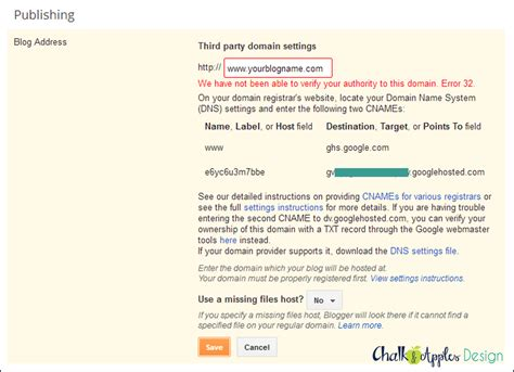 blogger https custom domain setting up your custom domain for blogger with godaddy