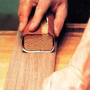 sanding detailed woodwork abrasives what they are and how to use them