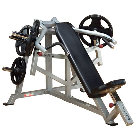 body solid incline bench body solid leverage incline bench press lvip incredibody