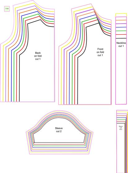 t shirt pattern printable free sewing pattern t shirt for kids sy barnkl 228 der och