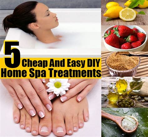 5 Things And Cheap by 5 Cheap And Easy Diy Home Spa Treatments Diy Home Things