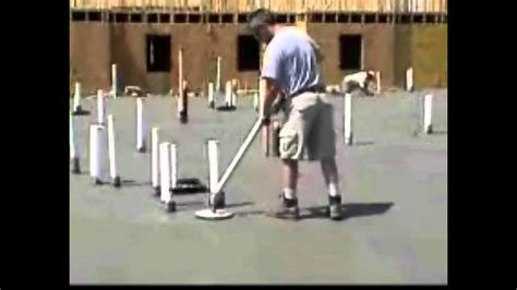 kipper finisher mini concrete power trowel youtube