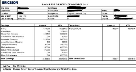 Salary slip in hd gallery cv letter and format 17812810815 what are the components of a salary slip quora altavistaventures Gallery
