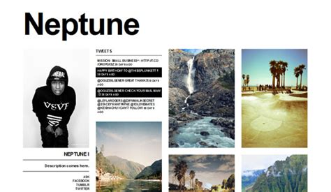 tumblr themes and layouts simple tumblr themes free grid images
