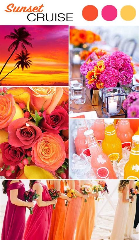 summer wedding color schemes the top 5 color palettes for your summer wedding wilkie