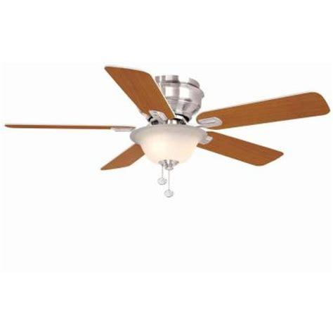 hton bay hawkins 44 ceiling fan hton bay hawkins 44 in brushed nickel ceiling fan
