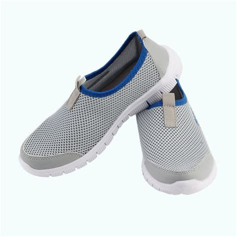 mc shoes lightweight walking breathable outdoor sport slip on