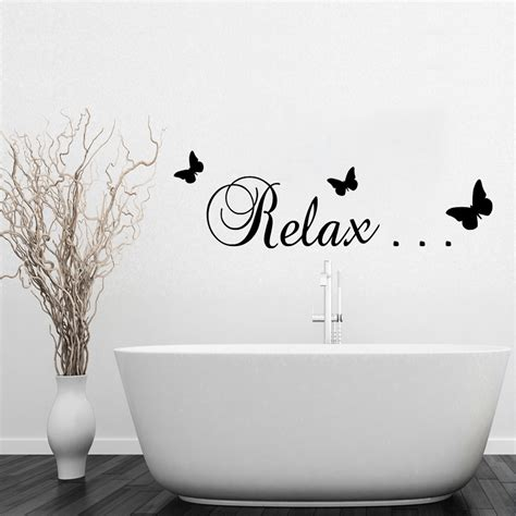 wall sticker for bathroom why choose bathroom wall stickers in decors