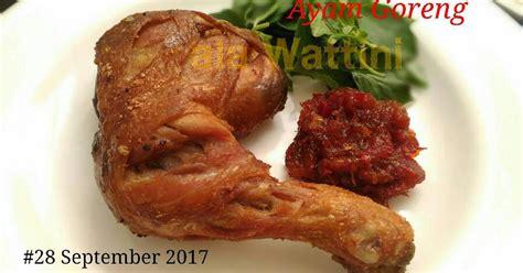 resep paha ayam bagian bawah enak  sederhana cookpad