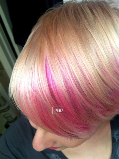platinum highlights hair cuts my new do platinum blush pixie haircut with pink