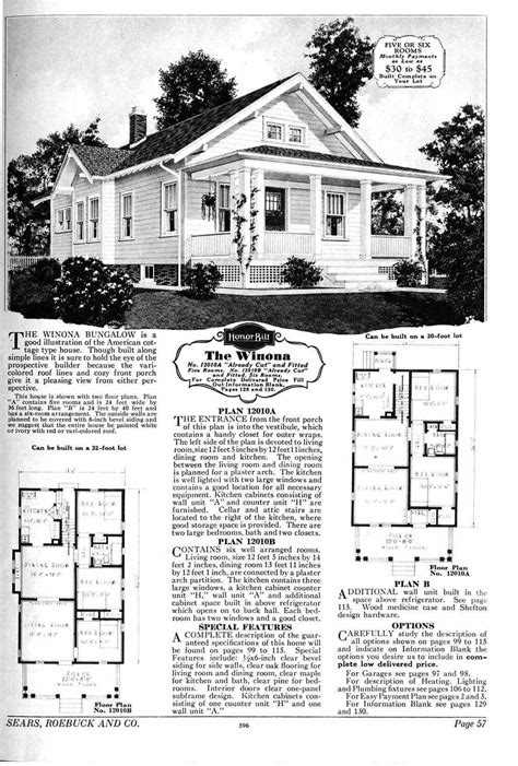 sears catalog homes floor plans sears bungalow the winona love the front porch that