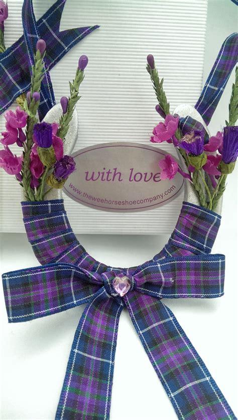pride of scotland tartan wedding shoe