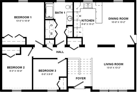 pioneer homes floor plans house plan pioneer home floor prime split entry charvoo