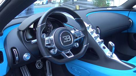 bugatti interior 1500hp bugatti chiron interior view black and blue