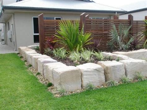 How To Landscape A Yard On A Budget Retaining Wall Design Ideas Get Inspired By Photos Of