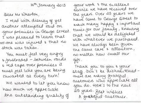 Heartfelt Thank You Letter To A Heartfelt Thankyou For Your Words