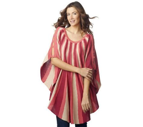seattle lisa rinna haircut lisa rinna collection striped sweater poncho with cutout