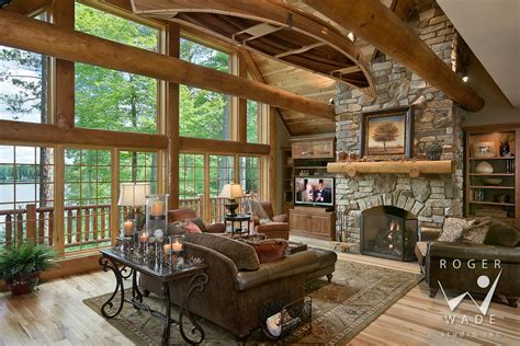 log cabin living room tjihome pictures of log home kitchens one of the best home design