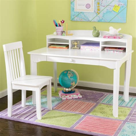 Shop Kidkraft Avalon Computer Desk At Lowes Com White Children Desk