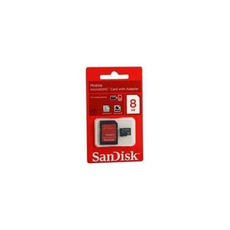 Micro Sd Sandisk 8 Gb micro sd 8gb sandisk edonato