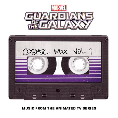 cassette cosmic marvel presents marvel s guardians of the galaxy