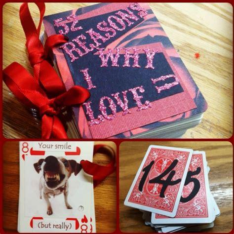 valentines day gift for my boyfriend 52 reasons why i