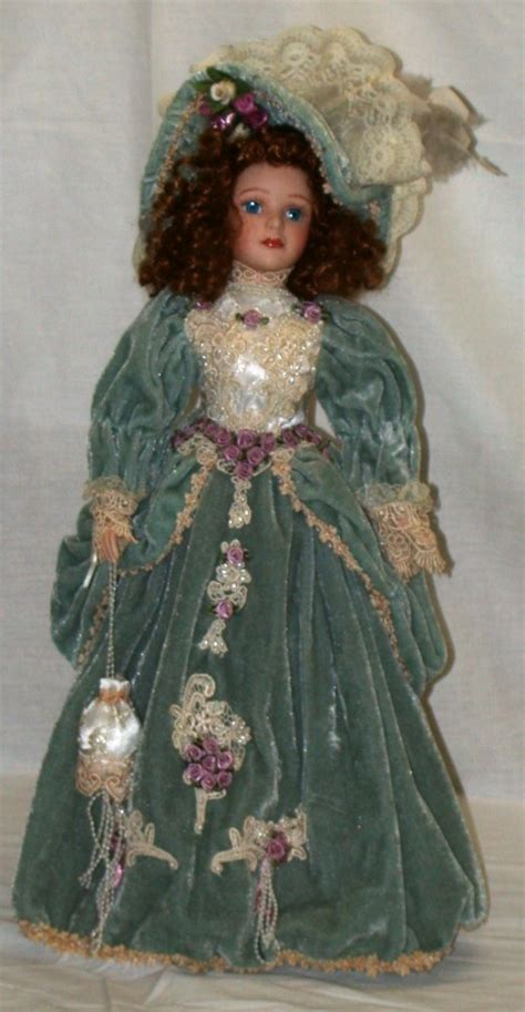 house of lloyd dolls house of lloyd porcelain doll quot sophie elizabeth quot 20 quot tall w stand ebay
