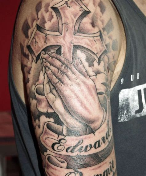 cool tattoos of crosses cool cross tattoos for guys cool tattoos bonbaden