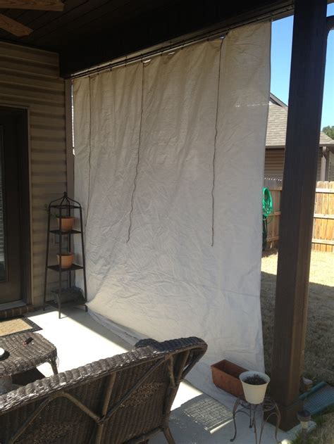 curtains made from painters drop cloths 61 best images about yard on pinterest fence design