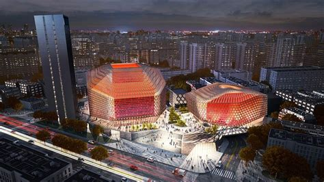 design contest for 280m london concert hall gmp architects win competition for the urban concert hall
