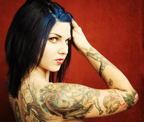 tattoo models female amazing beautiful tattoos wonderful from all