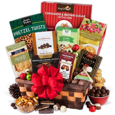 Christmas Gift Basket Classic - A Last Minute Gift That ... Gift Baskets Delivered Today