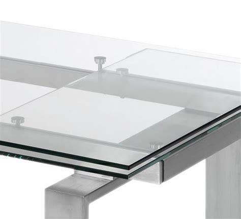 Glas Esstisch Ausziehbar