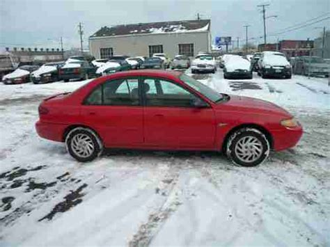 cheap 4 door sports cars buy used cheap no reserve 1997 ford escort sport sedan 4