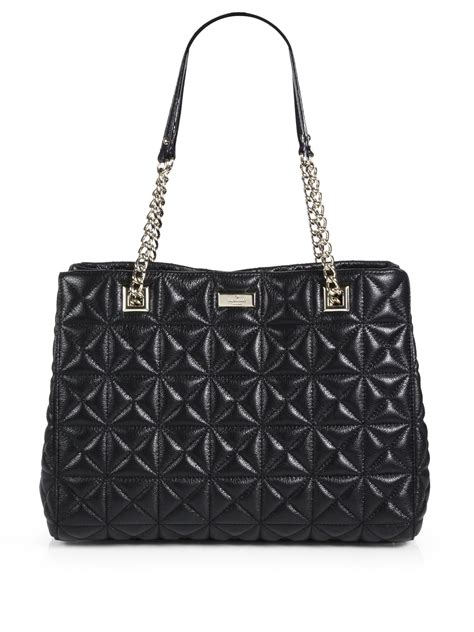 Kate Spade Black Quilted Purse by Kate Spade Sedgwick Place Phoebe Quilted Tote In Black