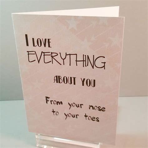 Handmade Birthday Card Ideas For Husband - i everything about you greeting card handmade card