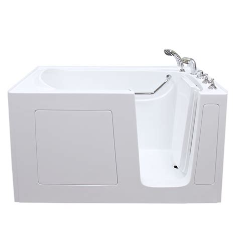 therapy bathtubs care series 3260 soaker walk in bathtub by american