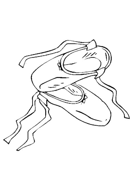 ballerina slippers coloring pages ballerina coloring page az coloring pages