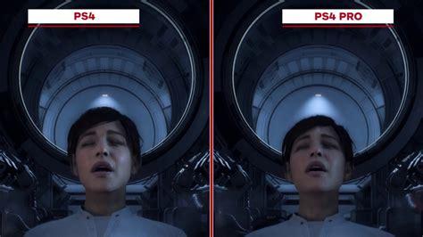 Ps4 Mass Effect Andromeda 1 mass effect andromeda graphics comparison ps4 vs ps4