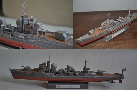 Destroyer Papercraft - ijn destroyer yukikaze by louie1105 on deviantart