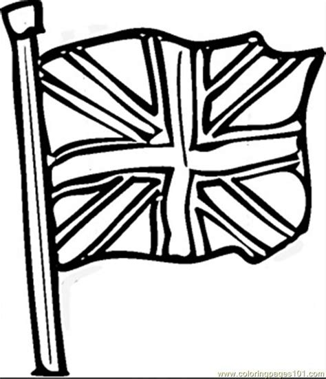 Coloring Pages British Flag Countries Gt Great Britain Flag Coloring Page